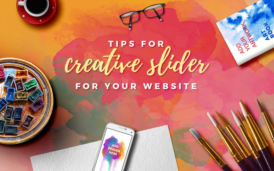 Creative Slider for Better Home Page Conversions