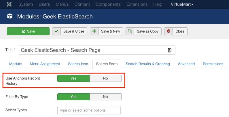 Geek ElasticSearch 3 3 0 enables users to share search