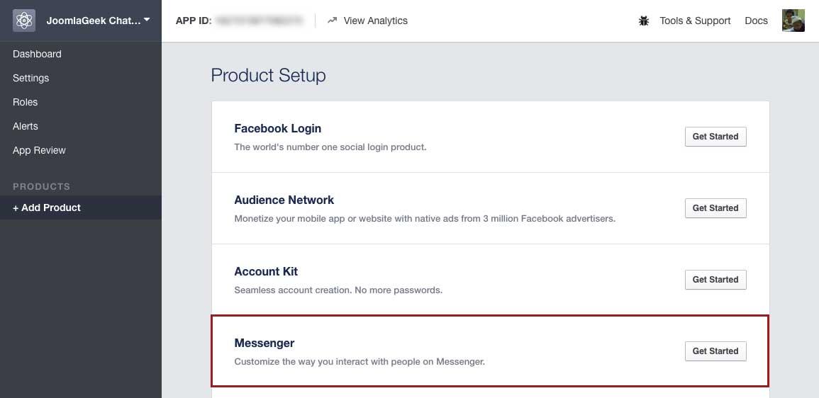 Detailed Documentation | Geek Joomla Facebook Chatbot Component