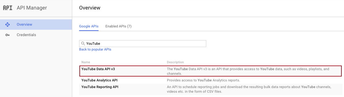 Youtube Data Api V3 Tutorial